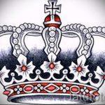 корона тату эскиз - рисунок для татуировки от 15052016 7