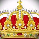 корона тату эскиз - рисунок для татуировки от 15052016 72