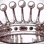 корона тату эскиз - рисунок для татуировки от 15052016 76