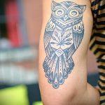 мандала богатства тату - фото пример готовой татуировки от 01052016 2