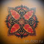 мандала любви тату - фото пример готовой татуировки от 01052016 4