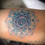 мандала любви тату - фото пример готовой татуировки от 01052016 5