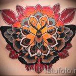 мандала тату цветная - фото пример готовой татуировки от 01052016 22