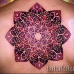 мандала тату цветная - фото пример готовой татуировки от 01052016 4
