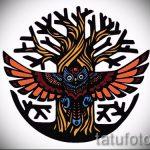 мандала тату эскизы в цвете - рисунок для татуировки от 02052016 11