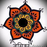 мандала тату эскизы в цвете - рисунок для татуировки от 02052016 12