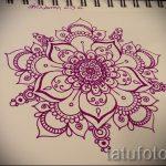 мандала тату эскизы в цвете - рисунок для татуировки от 02052016 6