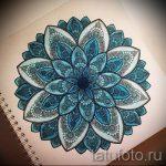 мандала тату эскизы в цвете - рисунок для татуировки от 02052016 8