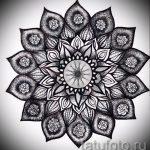 мандала тату эскизы мужские - рисунок для татуировки от 02052016 2