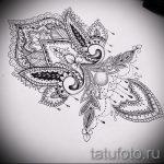 мандала тату эскизы на запястье - рисунок для татуировки от 02052016 1