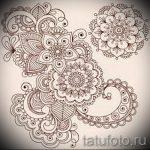 мандала тату эскизы на запястье - рисунок для татуировки от 02052016 10