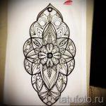 мандала тату эскизы на запястье - рисунок для татуировки от 02052016 3