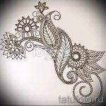 мандала тату эскизы на запястье - рисунок для татуировки от 02052016 7