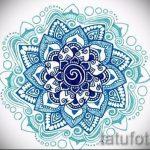 мандала тату эскизы на запястье - рисунок для татуировки от 02052016 9
