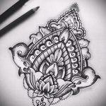 мандала тату эскизы - рисунок для татуировки от 02052016 10