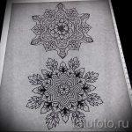 мандала тату эскизы - рисунок для татуировки от 02052016 12