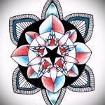 мандала тату эскизы - рисунок для татуировки от 02052016 14