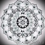 мандала тату эскизы - рисунок для татуировки от 02052016 16