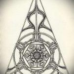 мандала тату эскизы - рисунок для татуировки от 02052016 21