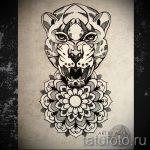 мандала тату эскизы - рисунок для татуировки от 02052016 27