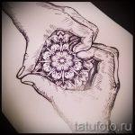 мандала тату эскизы - рисунок для татуировки от 02052016 28