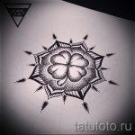 мандала тату эскизы - рисунок для татуировки от 02052016 30