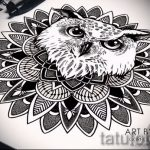 мандала тату эскизы - рисунок для татуировки от 02052016 32