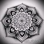 мандала тату эскизы - рисунок для татуировки от 02052016 36