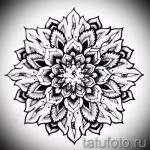 мандала тату эскизы - рисунок для татуировки от 02052016 37