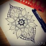 мандала тату эскизы - рисунок для татуировки от 02052016 38