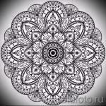 мандала тату эскизы - рисунок для татуировки от 02052016 42