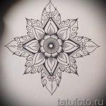 мандала тату эскизы - рисунок для татуировки от 02052016 44