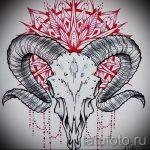 мандала тату эскизы - рисунок для татуировки от 02052016 47