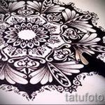 мандала тату эскизы - рисунок для татуировки от 02052016 48