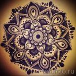 мандала тату эскизы - рисунок для татуировки от 02052016 5