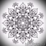 мандала тату эскизы - рисунок для татуировки от 02052016 50