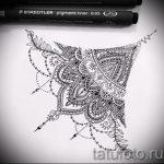 мандала тату эскизы - рисунок для татуировки от 02052016 6