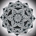 мандала тату эскизы - рисунок для татуировки от 02052016 8