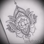 мандала эскизы тату на спину - рисунок для татуировки от 02052016 1