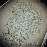 мандала эскизы тату на спину - рисунок для татуировки от 02052016 7