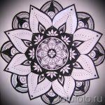 мандала эскизы тату на спину - рисунок для татуировки от 02052016 8