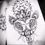 мандала эскизы тату на спину - рисунок для татуировки от 02052016 9