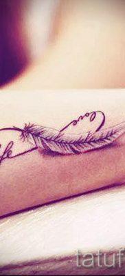 татуировка бесконечность на запястье и ее значение – пример готовой татуировки на фото 2