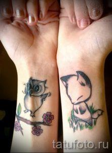 Cute fox tattoos