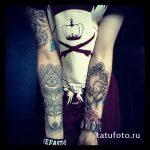 тату глаз в треугольнике на предплечье - фото готовой татуировки от 13052016 14