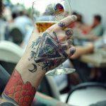 тату глаз в треугольнике на руке - фото готовой татуировки от 13052016 13