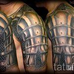 тату доспехи гладиаторов - пример готовой татуировки от 16052016 6