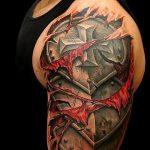 тату доспехи гладиаторов - пример готовой татуировки от 16052016 8