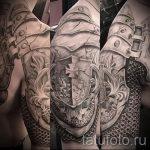 тату доспехи латы кольчуга - пример готовой татуировки от 16052016 4