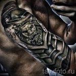 тату доспехи латы кольчуга - пример готовой татуировки от 16052016 5